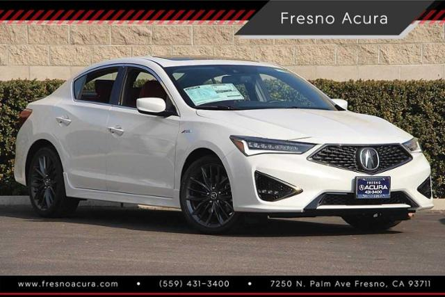 New 2019 Acura ILX With Premium And A-Spec Packages 4dr