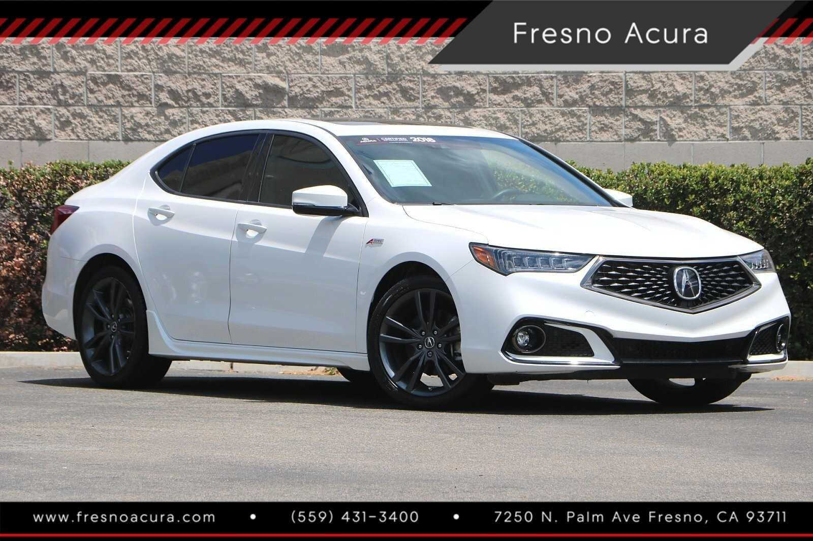 Certified Pre-Owned 2018 Acura TLX 3.5 V-6 9-AT SH-AWD with A-SPEC