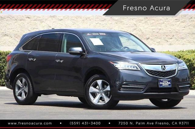 Certified PreOwned Acura MDX Base Sport Utility In Fresno - Acura mdx pre owned