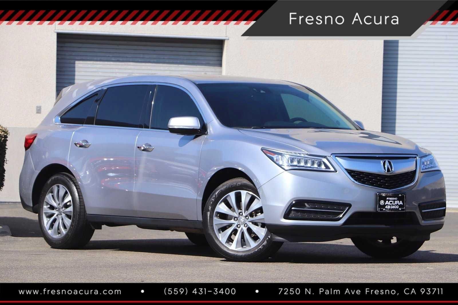 Pre-Owned 2016 Acura MDX FWD 4dr w/Tech