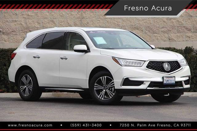 Certified Pre Owned 2017 Acura Mdx Sh Awd Sport Utility In Fresno 154591c