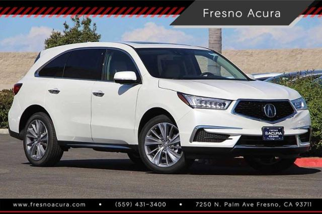 New 2018 Acura Mdx Sh Awd With Technology Package Sport Utility In Fresno 1435