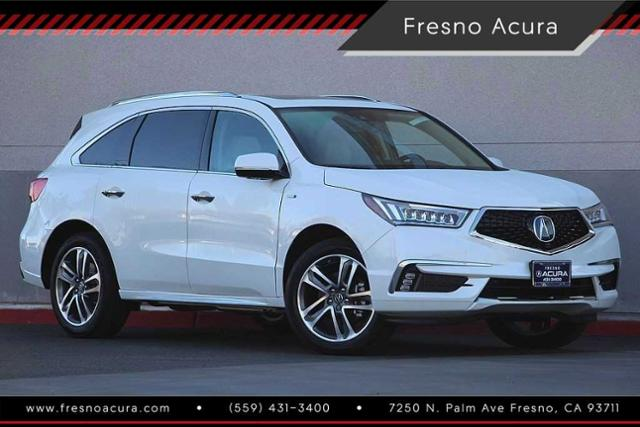 New 2019 Acura Mdx Sport Hybrid Sh Awd With Advance Package Utility In Fresno 1827