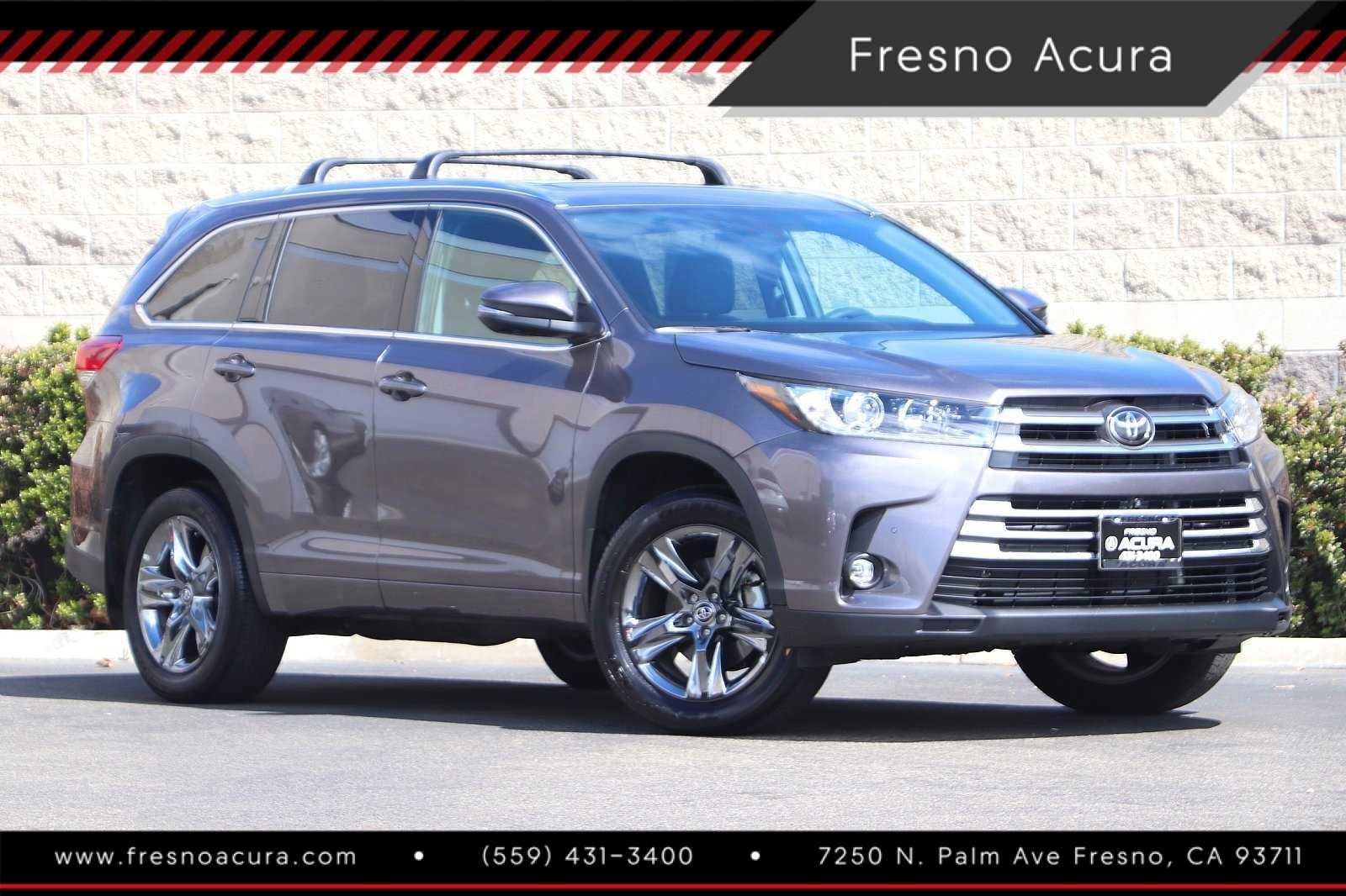 Pre-Owned 2019 Toyota Highlander Limited Platinum V6 AWD