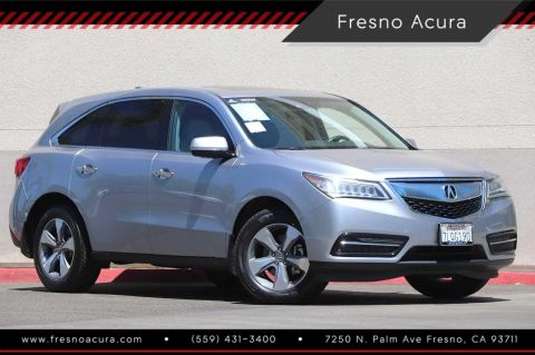 Certified Pre-Owned 2016 Acura MDX SH-AWD with AcuraWatch Plus