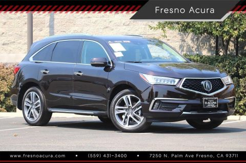 Certified Pre-Owned 2018 Acura MDX with Advance Package